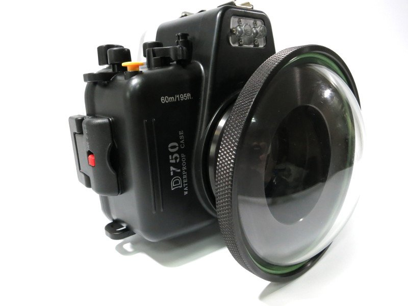 Бокс meikon для nikon d750 с портом wide dome port 170 MKN-D750-WDP170